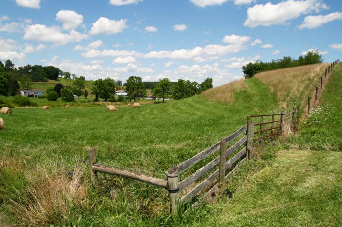 Farmland in Virginia
